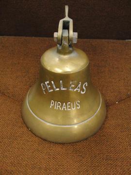 船鐘 真鍮製のアンティーク